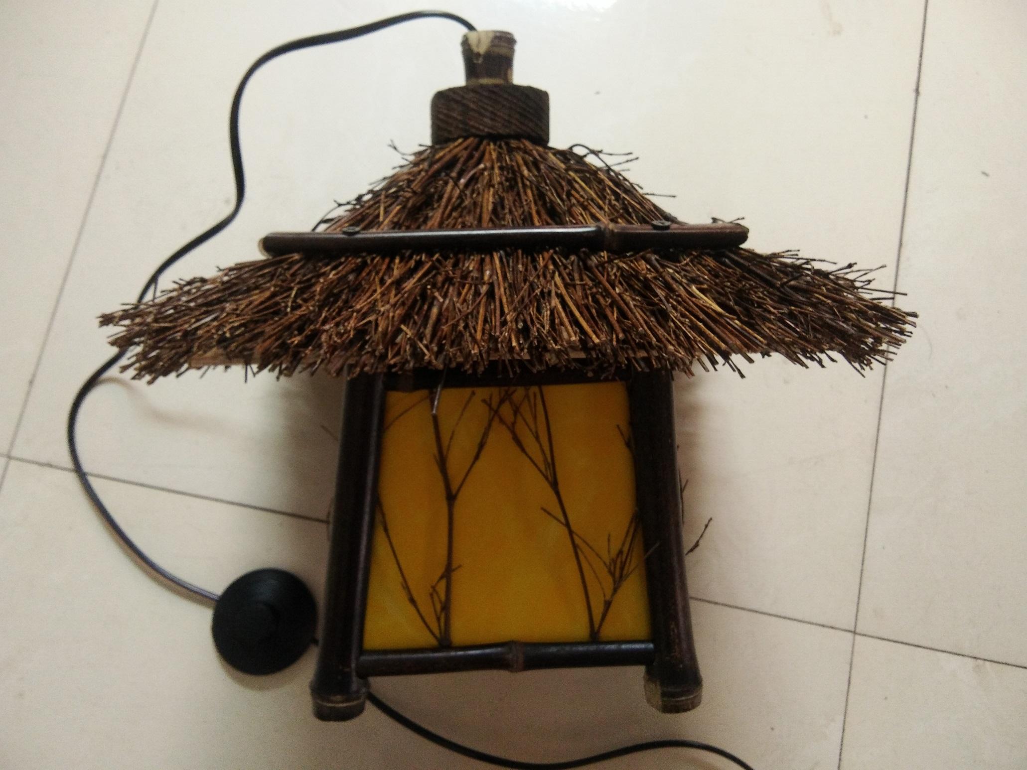 竹编兔子灯制作步骤